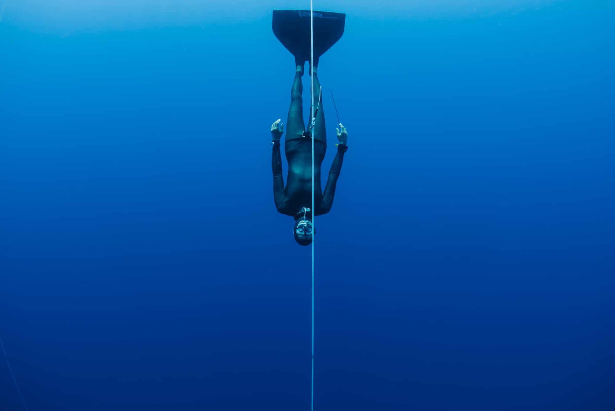 Apnée : Christophe Leray en immersion libre
