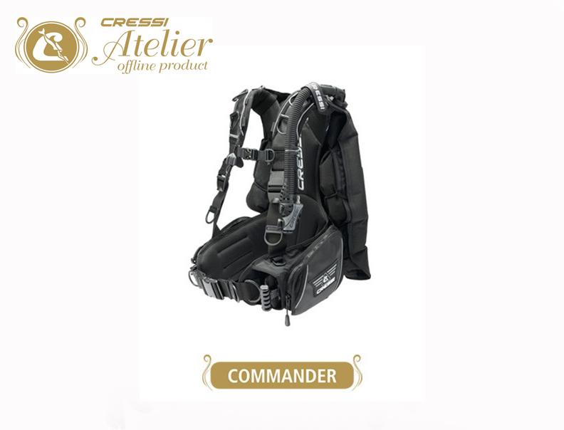 Gilet de Stabilisation Commander   Cressi Atelier