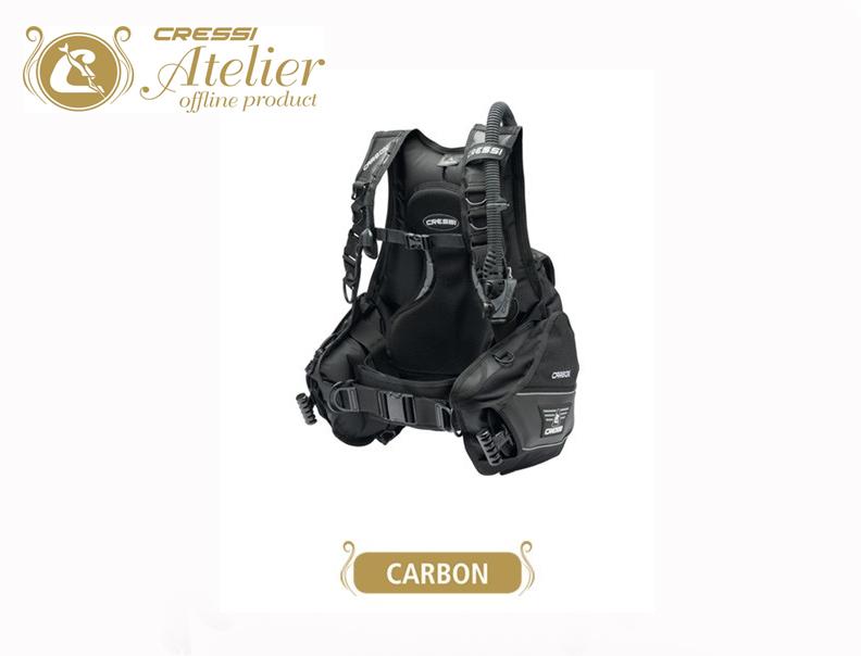 Gilet de stabilisation de plongée Carbon   Cressi Atelier