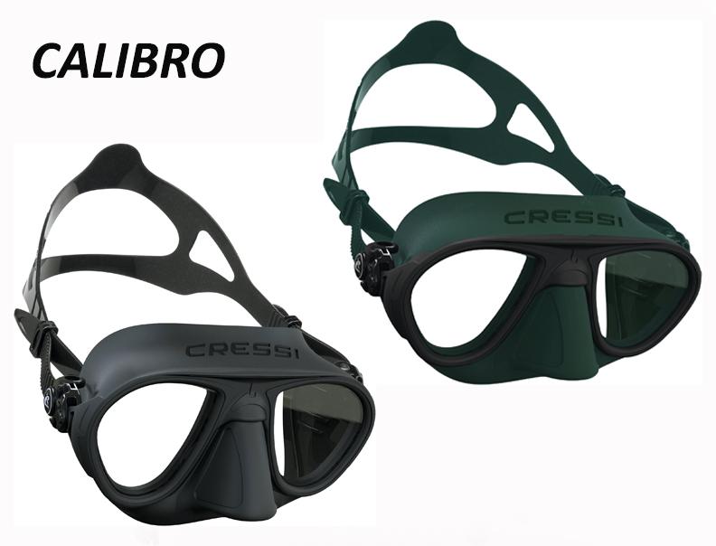Calibro Cressi   Masque de chasse sous-marine