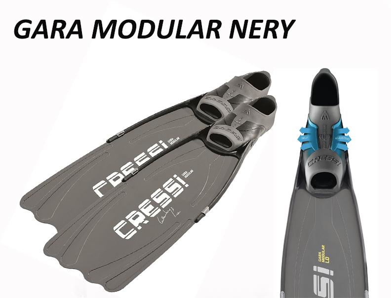 Palmes Gara Modular Guillaume Néry   Apnée & chasse sous-marine