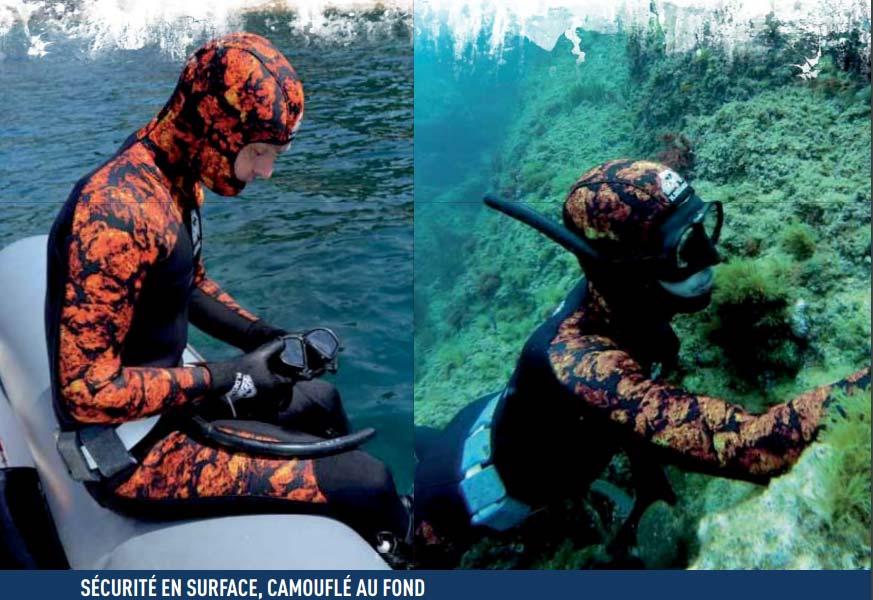Dessault Volcano : Combinaison de chasse sous-marine | Nouveauté H.DESSAULT