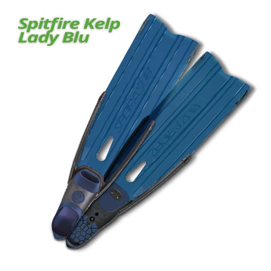 Palmes d'apnée Spitfire Kelp Lady Blue | Nouveauté 2018