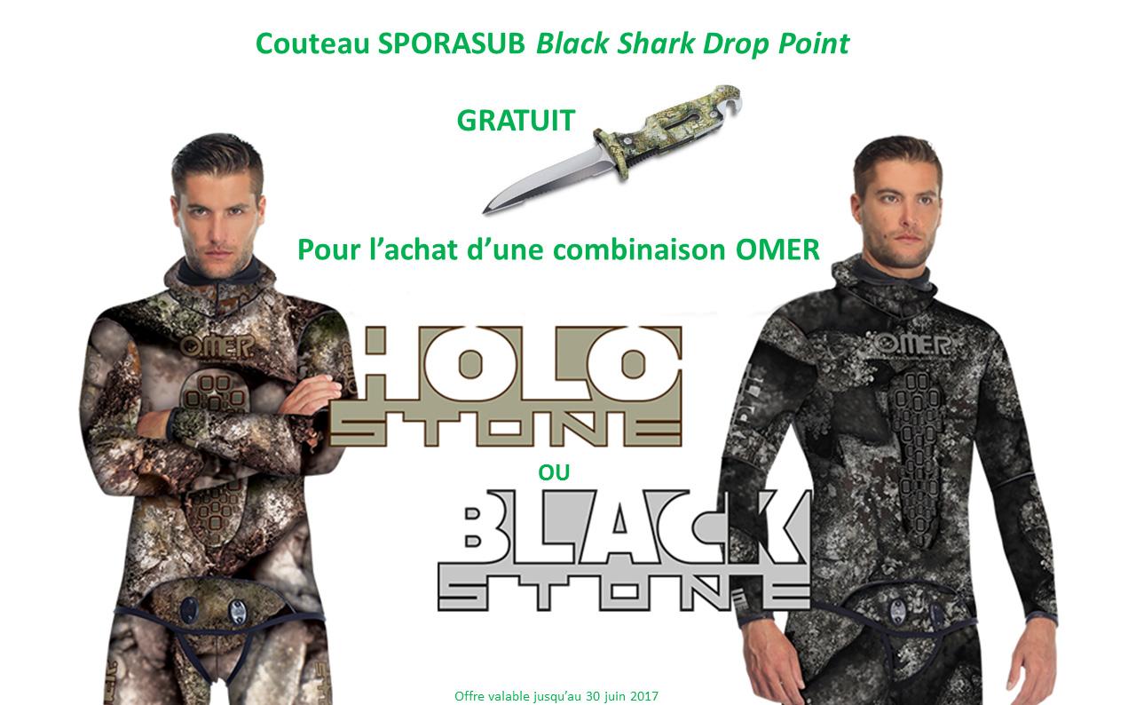 Offre spéciale 1 Omer – Combinaison Holo Stone et Black Stone