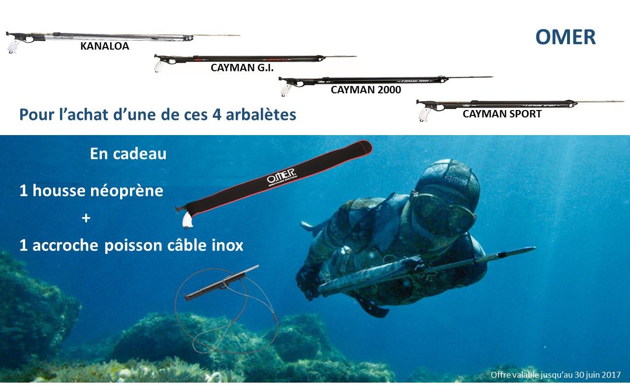 Offre spéciale 3 – Arbalètes de chasse sous-marine