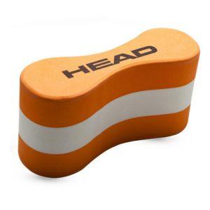 Pull buoy head orange et blanc