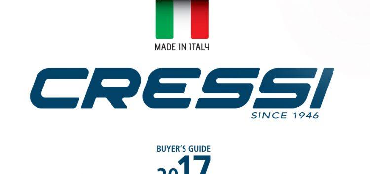 Les nouveautés Cressi pour la saison 2017