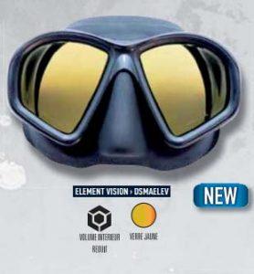 Masque de chasse sous-marine Element vision Dessault