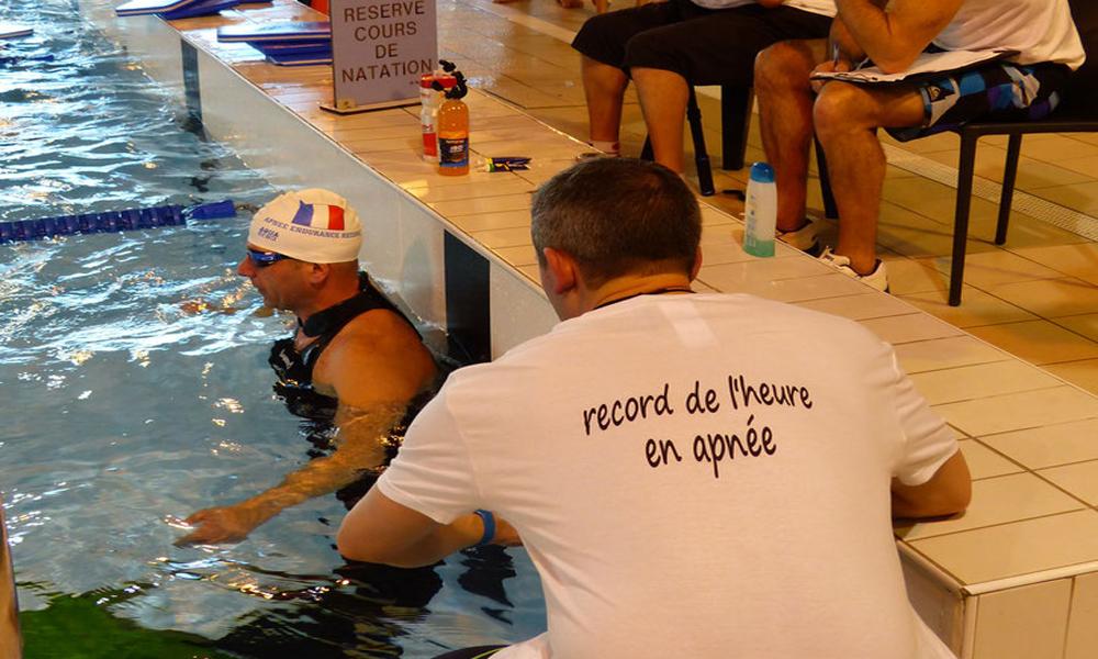 Record de l'heure en apnée - Apnée en endurance by Pascal Mazé