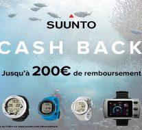 Bon plan : Offre Suunto Cash Back 2017 !