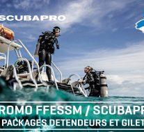 Offre promo Scubapro pour les clubs adhérents à la FFESSM !