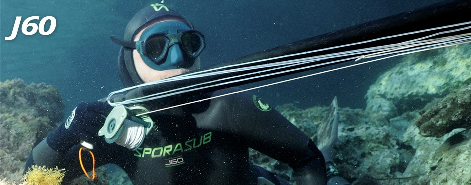 Combinaison de chasse sous-marine lisse extérieur J60 - Nouveauté Sporasub 2018