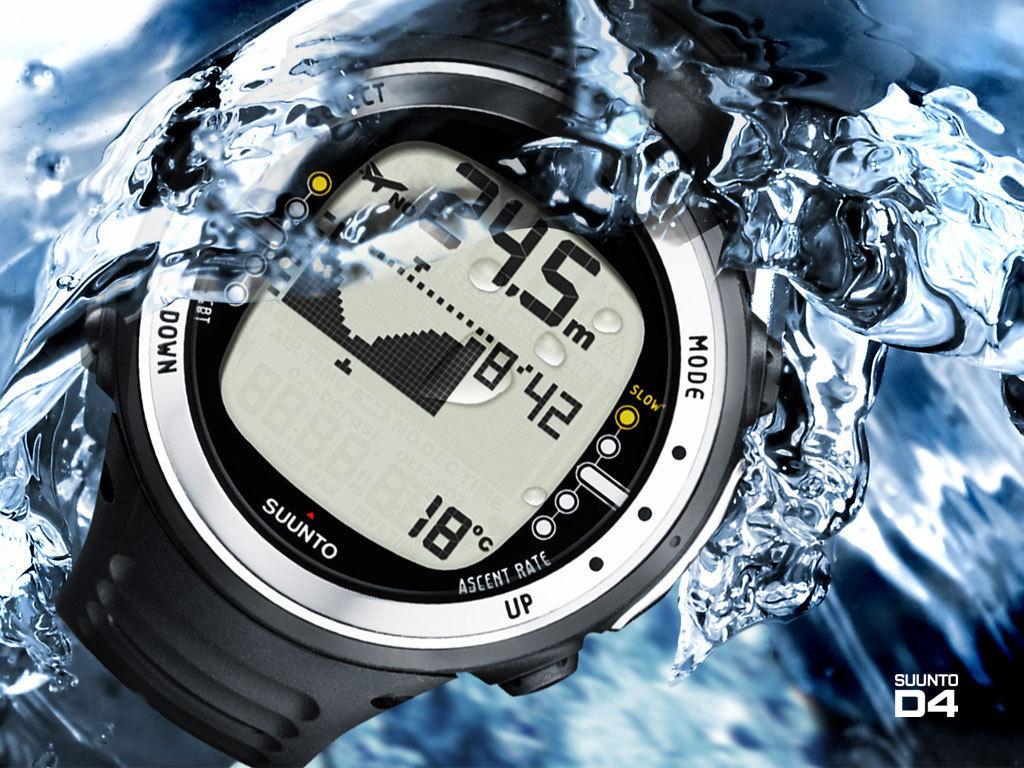 Suunto D4F Black - Ordinateur dédié à la plongé en apnée | Le Petit Plongeur