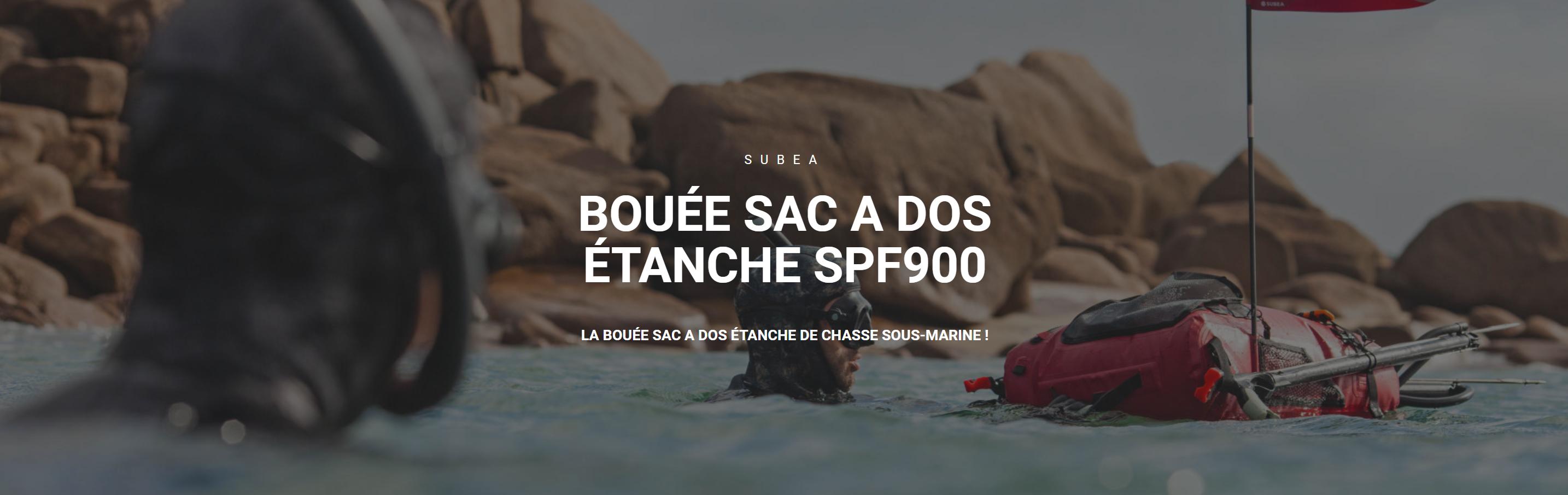 Révolution: La 1ere bouée - sac de transport pour la chasse sous marine et autres activités nautiques
